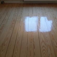 Holz Dielenboden versiegelt